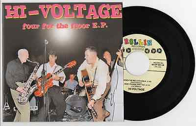 Hi Voltage - 'four For The Floor Ep' Hear All The Tracks!