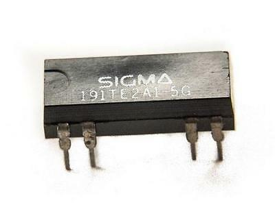 Sigma 191TE2A1-5G Reed Relay, 1 pole, single throw - Lot of 3   ( 28B180 )