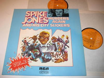 2 LP/SPIKE JONES and CITY SLICKERS/MURDERS AGAIN Vol.2/RCA RCS 3217/1-2