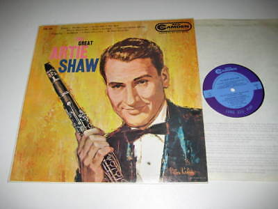 Lp/the Great Artie Shaw/rca Camden Cal 465