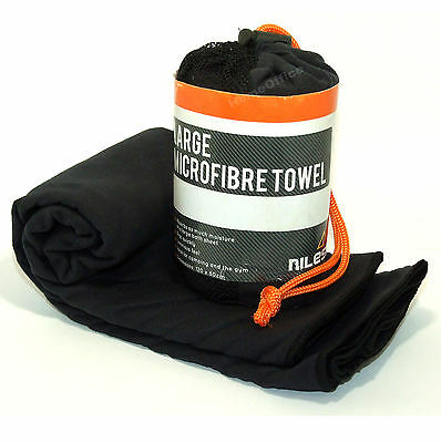 Microfibre Towel Sports Gym / Camping Travel Microfiber Sheet In Compact Pouch