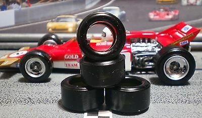 """XPG""  URETHANE SLOT CAR TIRES 2pr PGT-21125LM fit POLICAR 2016 Lotus 72 & March"