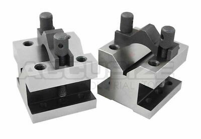 "2-3/8"" x 2-3/8"" Ultra Precision V-Block & Clamp Set in Fitted Box, #EG10-9012"