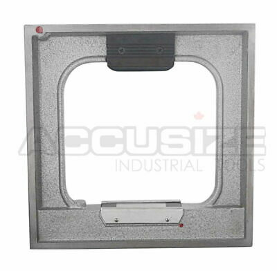 "8x8"" Precision Master Frame Spirit Level x 0.0002""/10"" in Fitted Box, #S908-C693"