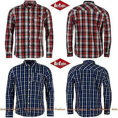 Chemise Manches Longues LEE COOPER à Rayures pour Homme