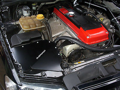 XR6 BA BF Turbo 4 Inch Air box and K&N filter Pipe -  PLAZMAMAN Intake