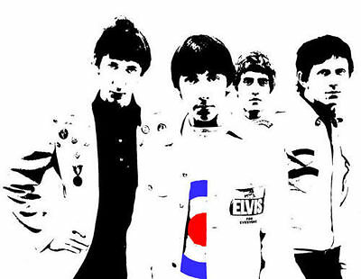 The Who Mod Target Full Colour Glossy Poster