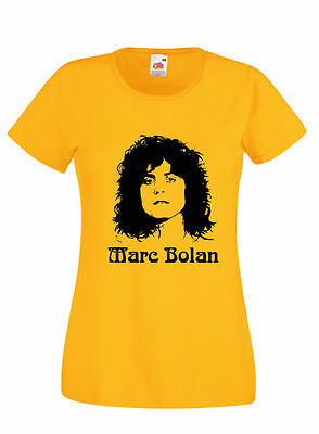 Marc Bolan T Rex T Shirt Men/Unisex/LadyFit Jeepster Hot Love Glam Rock 70's