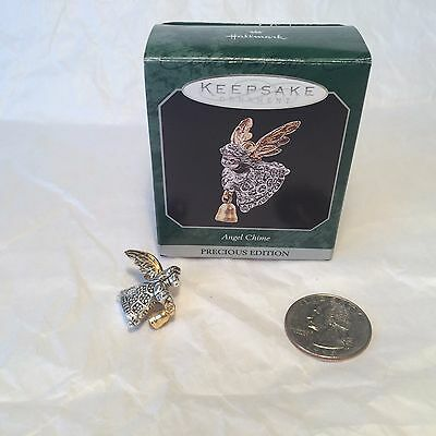 "Hallmark Miniature Ornament ""Precious Edition - Angel Chime"" 1998"