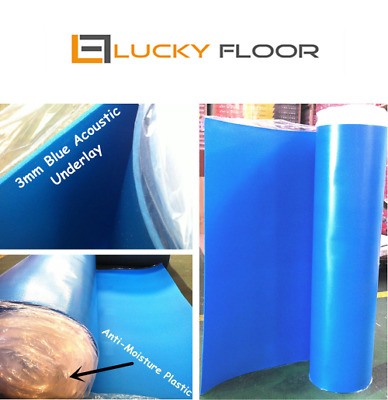 3mm Blue Acoustic Underlay /FLOATING FLOOR /FLOOR /TIMBER LAMINATE