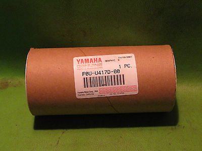 Yamaha Ext1200X 1999 Right Rear Upper Graphic #3 Oem # F0U-U417D-00