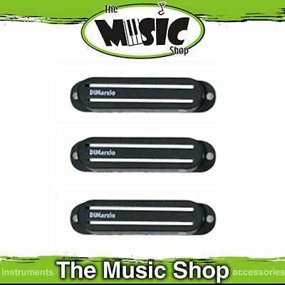 3 x Dimarzio Black Fast Track Type Pickup Covers - DM12B