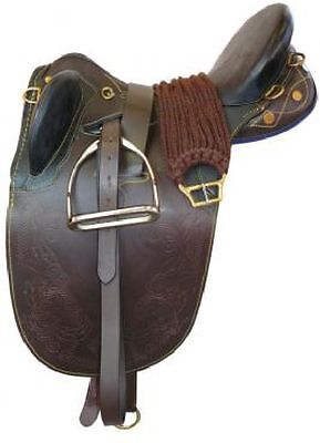 Childs Leather Stock Saddle Kit  14 inch  *NEW*