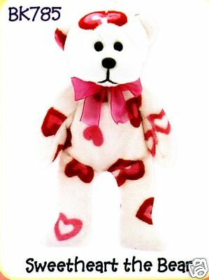 "Skansen Beanie Kids  ""sweetheart The Bear""  Mwmt"