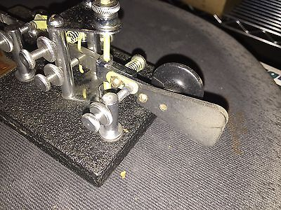 VIBROPLEX CHAMPION KEY WITH ORIGINAL BOX Ham Radio
