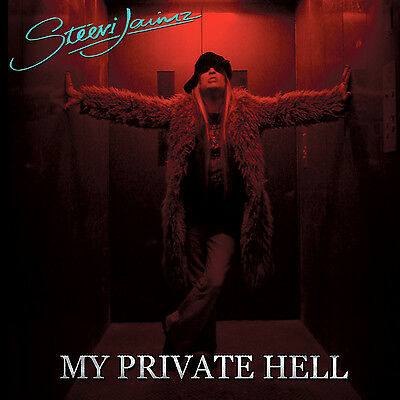 "Steevi Jaimz ""My Private Hell"" Rare CD +Bonus Trax Ex Tigertailz singer Hairband"