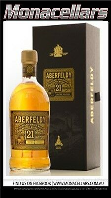 Aberfeldy Highland Single Malt Scotch Whisky 21YO 700ml