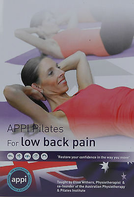 Appi Pilates For Low Back Pain Dvd/ New Dvd From The Pilates Experts