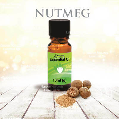 Nutmeg Essential Oil 10ml - 100% Pure - For Aromatherapy & Home Fragrance