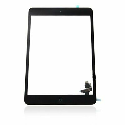 Black Replacement Touch Screen Digitize Glass w/ IC + Tools For iPad Mini 1&2 CA