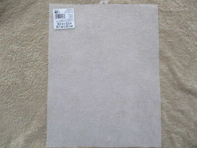 "Darice 10 count Plastic Canvas 13.5"" x 10.5"" - Choice of 1 2 5 9 12 18 Sheets"