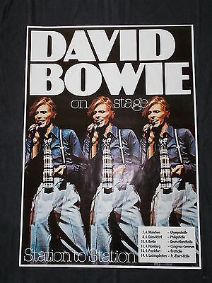 +++ 1976 DAVID BOWIE Station to Station Tourposter Concert Poster by KIESER