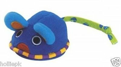 Petstages Cat Kitten Toy Mouse On Wheels Pull Back & Self Propels With Catnip