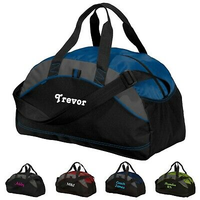 Personalized Duffel Gym Bag Sports Travel Overnight Bag Groomsmen Gift Medium