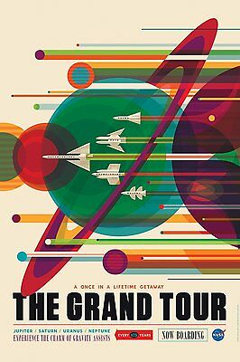 A3/A4 SIZE - The Grand Your Nasa Travel VINTAGE RETRO ART PRINT POSTER  # 3