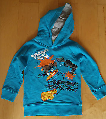 Disney PHINEAS & FERB Hoody Jumper Top Age 3 4 5 6 7 8 CLEARANCE SALE Girls/Boys