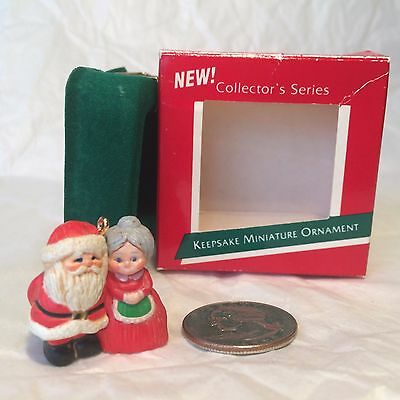 "Hallmark Christmas Miniature Ornament ""The Kringles"" series 1st 1989"