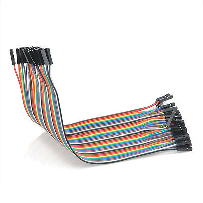 40Pcs Wholesale Female to Female Wire Jumper Cable for Arduino Shield Breadboard