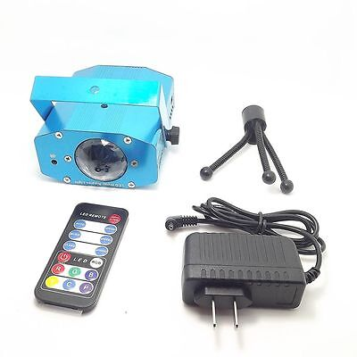 LED Stage Light Remote Water Wave Effect Projector Lighting DJ Club Disco Party
