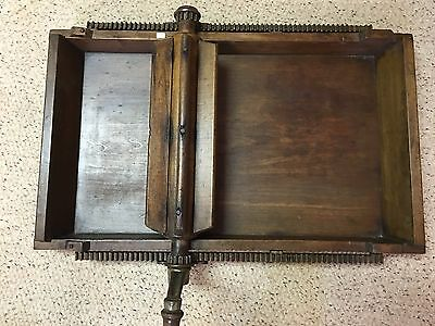 RARE Antique Primitive Pine Butter Maker Churn Patent March 23 1875 Working