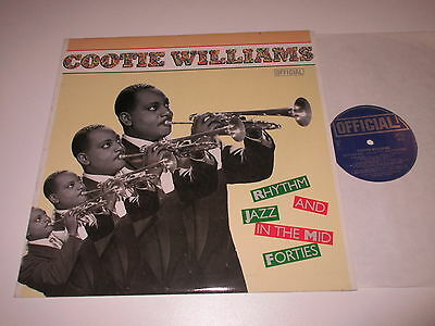 LP/COOTIE WILLIAMS/RHYTHM JAZZ AND IN THE MID FORTIES/Official 3014