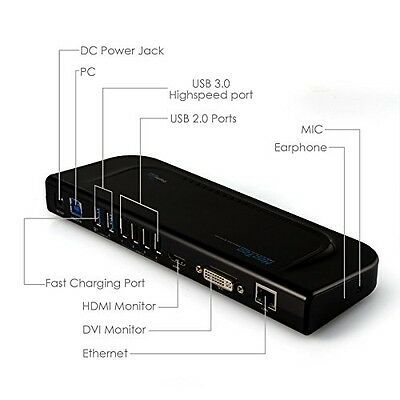 Docking Station Usb 3.0 Universale Per Laptop/notebook