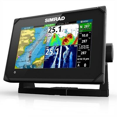 SIMRAD GO7 XSE Totalscan - Multifunction Chartplotter - With Transducer