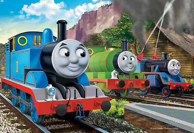 08710 Ravensburger Thomas & Friends Emergency 35Pc [Children's Jigsaw Puzzle]