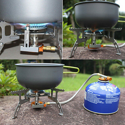 Portable Split Type Gas Stove Picnic Furnace Outdoor Camping Cooking MC