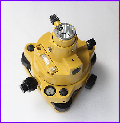 Yellow Tribrach with optical plummet & Adapter for Topcon Sokkia Total Stations