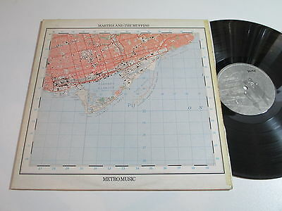 "12""/MARTHA AND THE MUFFINS/METRO MUSIC/DID1 + insert"
