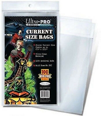 500 Ultra Pro Current  Storage Bags Brand New Factory Sealed