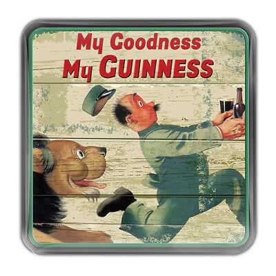 Nostalgic Epoxy Magnet With My Goodness My Guinness Lion Design