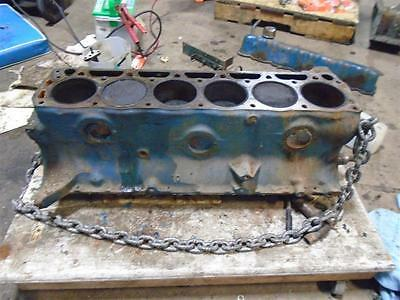 Ford 6 Cylinder 170 CID Engine Motor block O1DE-6015-A