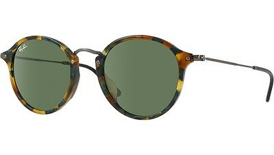 Ray Ban RB2447 1159/4E Women's Spotted Green Havana & Green Gradient Sunglasses