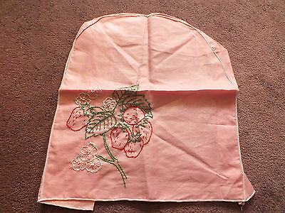 Collectible Appliance Cover Embroidered Strawberries 14 x 12 x 7 x 3 Inch NICE