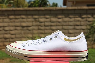 Converse Chuck Taylor 70 Ox Sz 10.5 Optical White Red Blue 1970 All Star  149448C f01593d34
