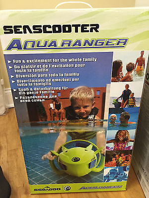 SeaDoo AquaRanger SeaScooter Scooter Electric Waterproof Green Blue SD95001