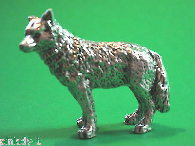 Wolf  figurine , mini statue GIFT BOXED