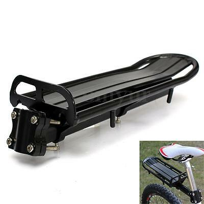 Most Seat 27.2~31.8mm Replacement Black Aluminum Alloy Rear Bike Bicycle Rack
